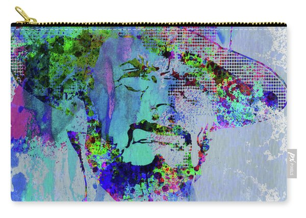 Legendary Clint Eastwood Watercolor Carry-all Pouch