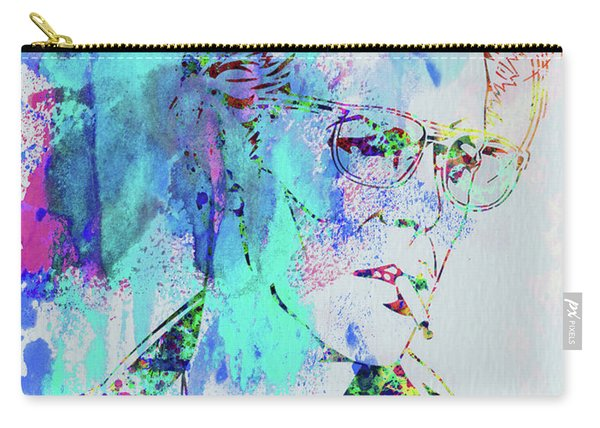 Legendary David Bowie Watercolor Carry-all Pouch
