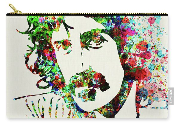 Legendary Frank Zappa Watercolor Carry-all Pouch