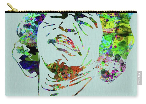 Legendary James Brown Watercolor Carry-all Pouch