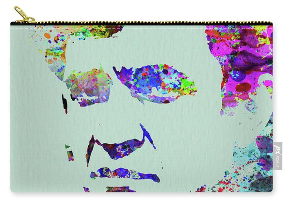 Legendary Johnny Cash Watercolor Carry-all Pouch