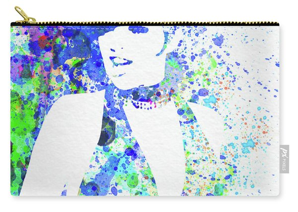 Legendary Liza Minnelli Watercolor II Carry-all Pouch