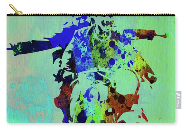 Legendary Motorcycle Diaries Watercolor Carry-all Pouch