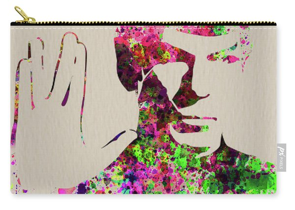 Legendary Spock Watercolor Carry-all Pouch
