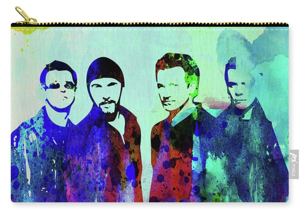 Legendary U2 Watercolor Carry-all Pouch