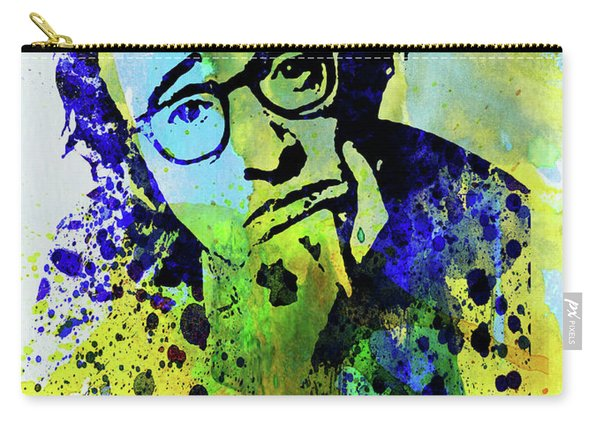 Legendary Woody Allen Watercolor Carry-all Pouch