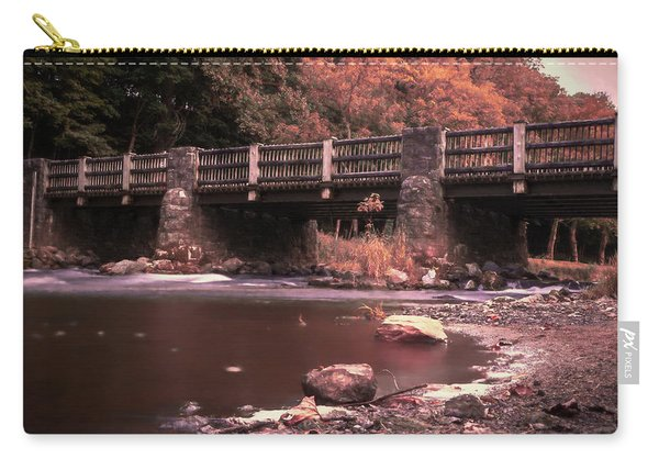 Lehigh Parkway Robin Hood Bridge - Impressionism Carry-all Pouch