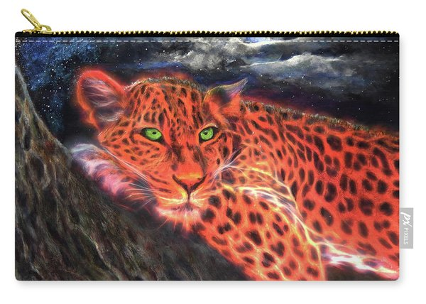 Leopard By Moonlight Carry-all Pouch