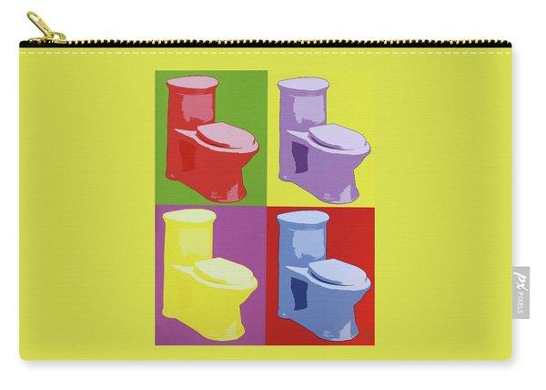 Les Toilettes  Carry-all Pouch