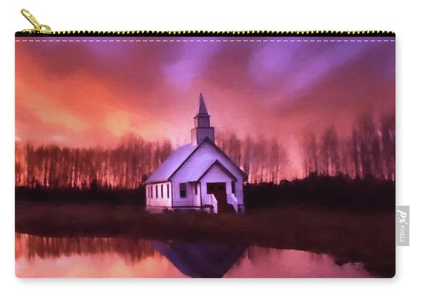 Light In The Dark - Hope Valley Art Carry-all Pouch