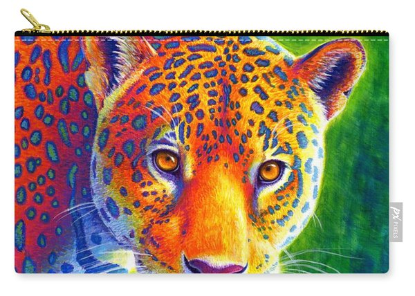 Light In The Rainforest - Jaguar Carry-all Pouch