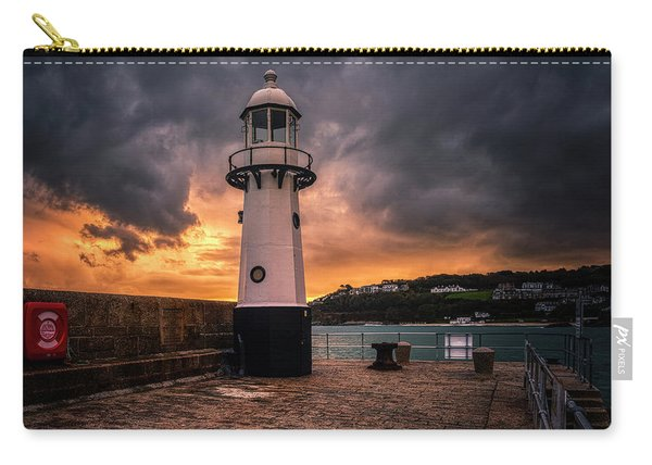 Lighthouse Dramatic Sky Carry-all Pouch