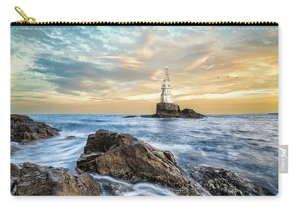Lighthouse In Ahtopol, Bulgaria Carry-all Pouch