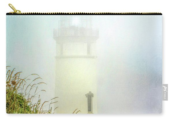 Lighthouse In Fog Carry-all Pouch