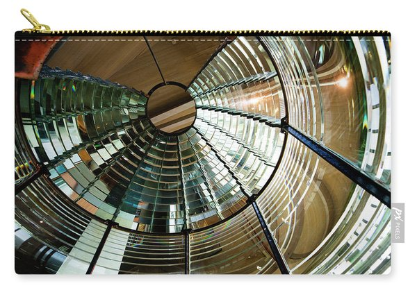 Lighthouse Lens Interior Lewis Carry-all Pouch