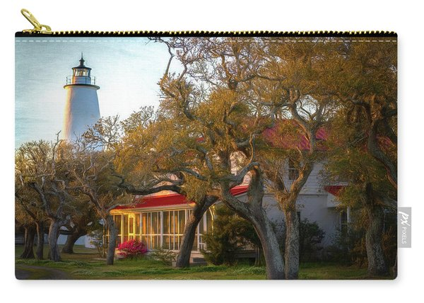 Lighthouse Ocracoke Island Carry-all Pouch