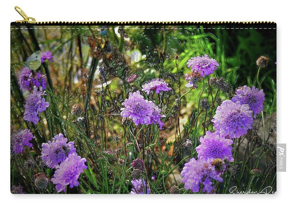 Lilac Jelly Pincushion Carry-all Pouch