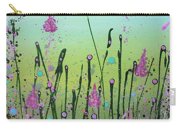Lilacs And Bluebells Carry-all Pouch