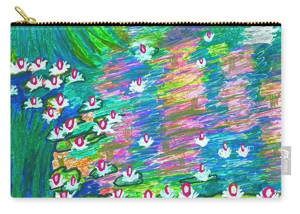 Lilies Of The Pond Carry-all Pouch