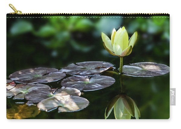 Lily In The Pond Carry-all Pouch