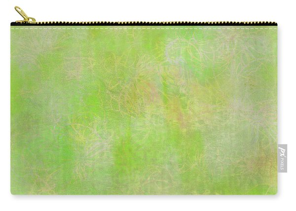 Lime Batik Print Carry-all Pouch