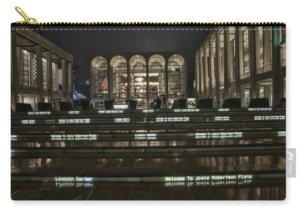Lincoln Center For The Performing Arts Carry-all Pouch