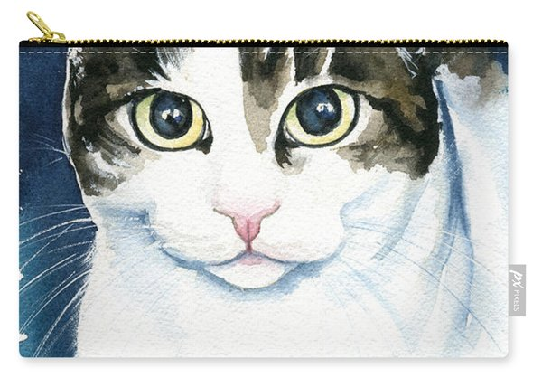 Lindy Cat Painting Carry-all Pouch