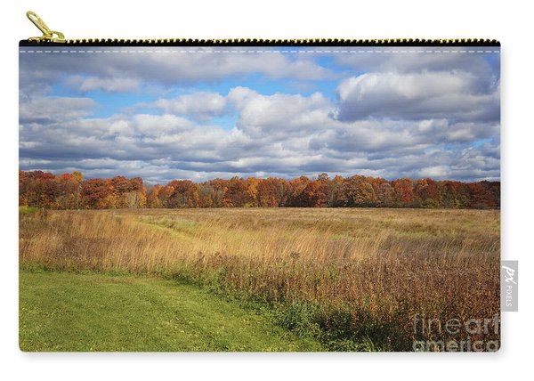 Line Of Autumnal Grace Carry-all Pouch