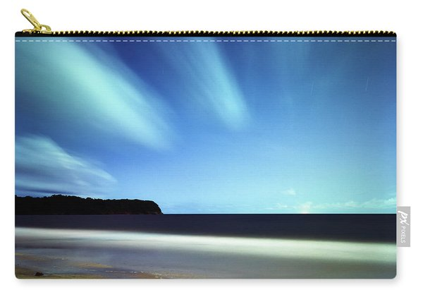 Linear Clouds Over Mayaro Carry-all Pouch