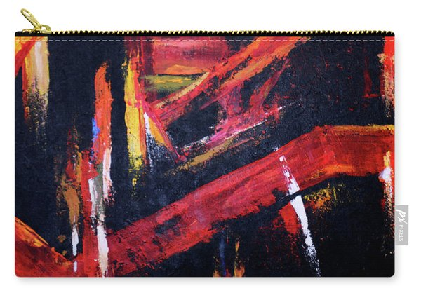 Lines Of Fire Carry-all Pouch