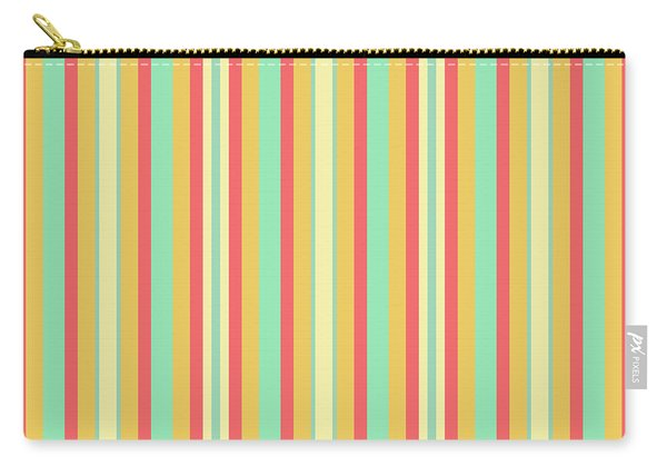 Lines Or Stripes Vintage Or Retro Color Background - Dde589 Carry-all Pouch