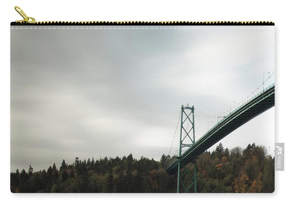 Lions Gate Bridge Vancouver Carry-all Pouch