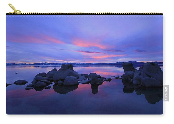 Carry-all Pouch featuring the photograph Liquid Serenity  by Sean Sarsfield
