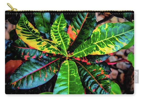 Liquid Tropical Colors Carry-all Pouch