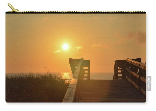 Listen To The Sunrise Carry-all Pouch