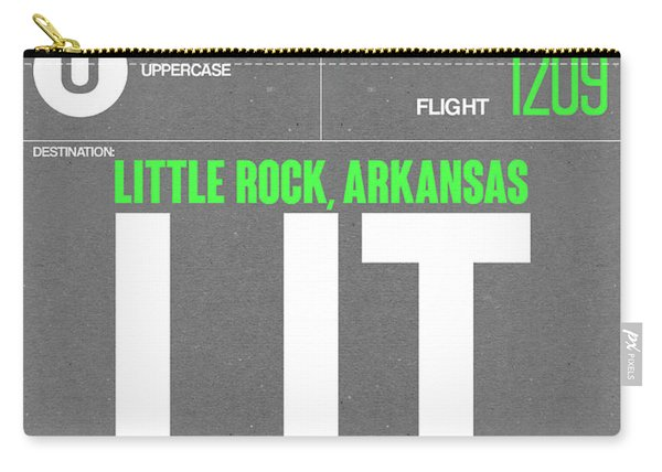 Lit Little Rock Luggage Tag II Carry-all Pouch