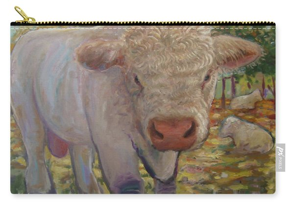 Little Big Bull Carry-all Pouch