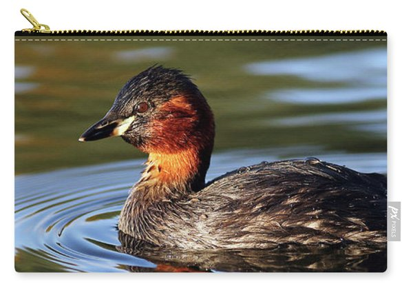 Little Grebe In Pond Carry-all Pouch