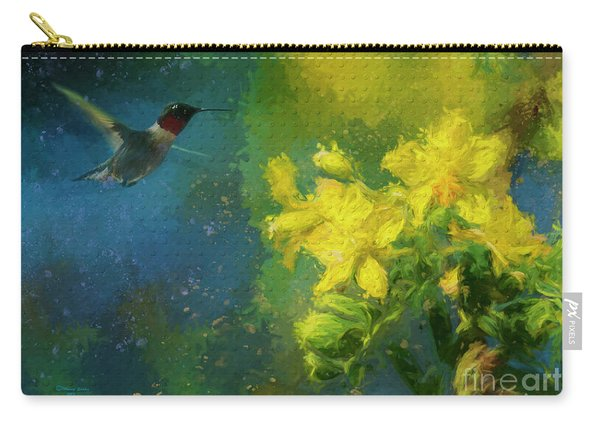 Little Hummer Carry-all Pouch