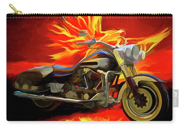 Live To Ride, Ride To Live Abstract Carry-all Pouch