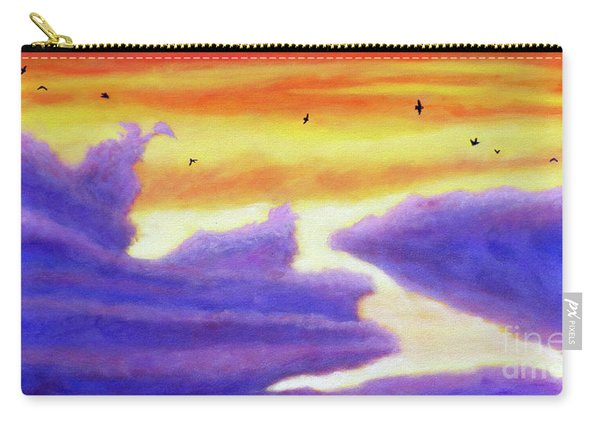 Living In The Sky Carry-all Pouch