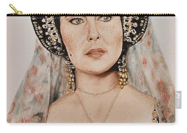 Liz Taylor Renaissance Portrait Carry-all Pouch