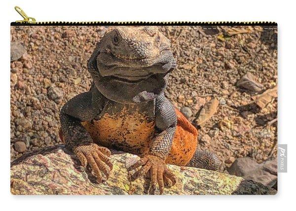 Lizard Portrait  Carry-all Pouch