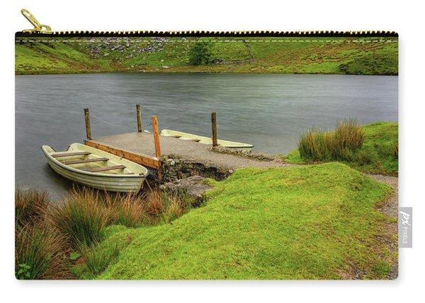 Llyn Y Dywarchen Boats Snowdonia Carry-all Pouch
