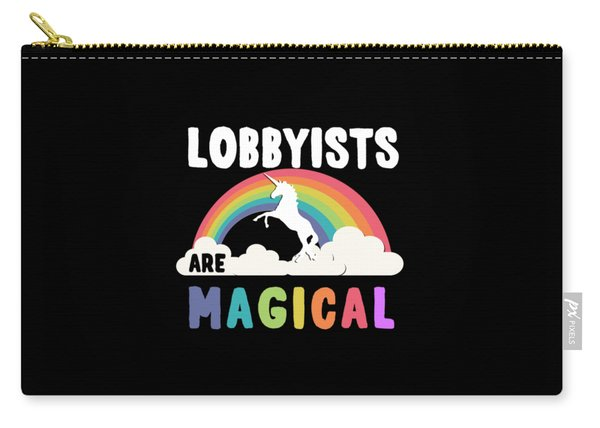 Lobbyists Are Magical Carry-all Pouch