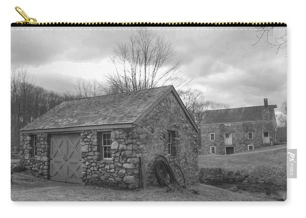 Lock House And Store - Waterloo Village Carry-all Pouch