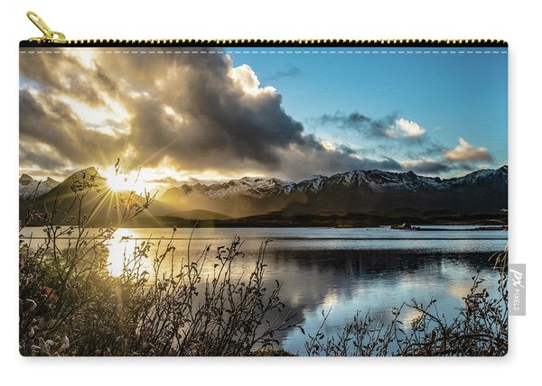 Lofoten Sunset Carry-all Pouch