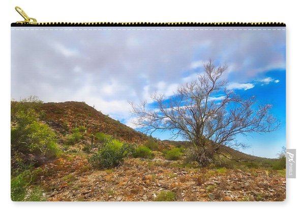 Lone Palo Verde Carry-all Pouch