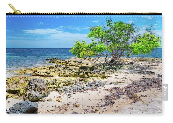 Lone Shore Tree Carry-all Pouch