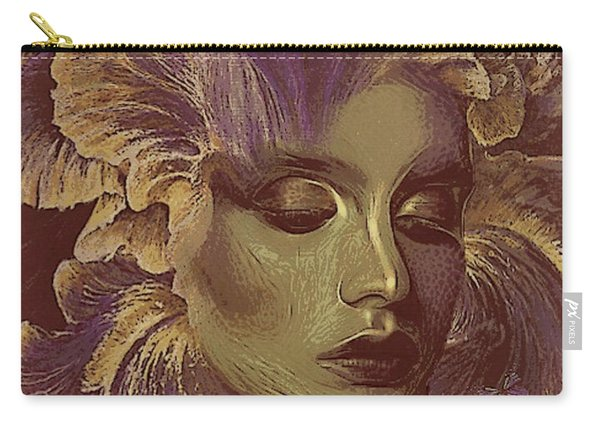 Lonely Iris 002 Carry-all Pouch